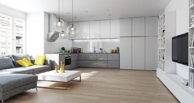 Jak idealnie połączyć kuchnię z salonem  Woźniak Studio   -> Salon Kuchni Gorzów