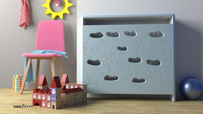 budowa grzejnika pokój dziecięcy 1a
